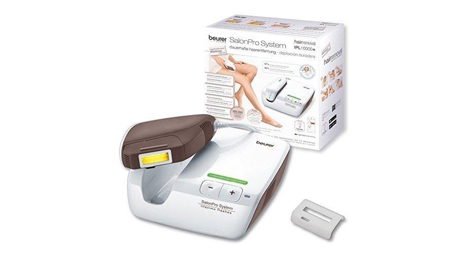Plaukų šalinimo prietaisas BEURER IPL10000+ SalonPro System