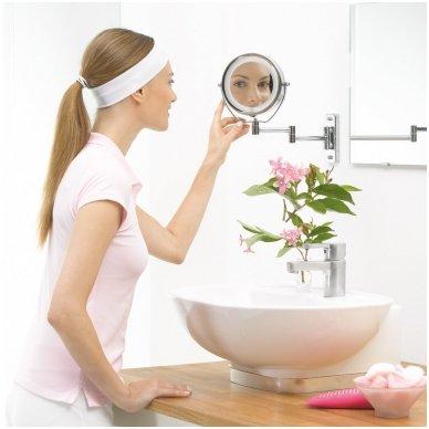 VOKIŠKAS BEURER apšviečiamas kosmetinis veidrodis BS59 (BS 59) 2