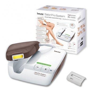 Plaukų šalinimo prietaisas BEURER IPL10000+ SalonPro System (IPL 10000)