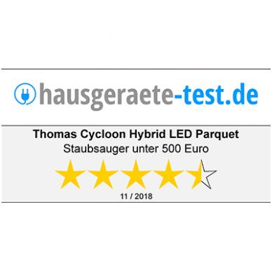 VOKIŠKAS THOMAS CYCLOON HYBRID LED PARQUET 1400W (NEMOKAMAS PRISTATYMAS) 13